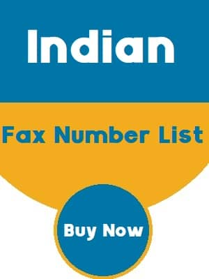 Indian Fax Number List