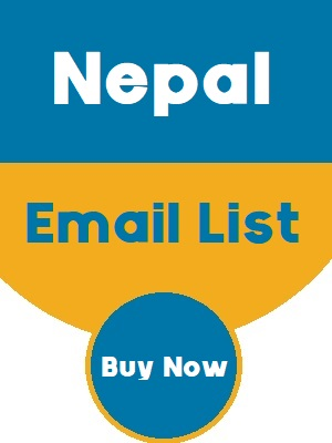 Nepal Email List